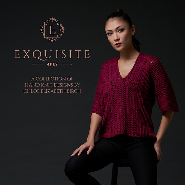 WYS Exquisite 4ply Hand Knit Designs by Chloe Elizabeth Birch